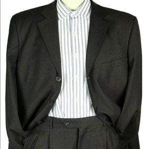 Loriano Milan Italy  Super 100's Men's Suit 40R